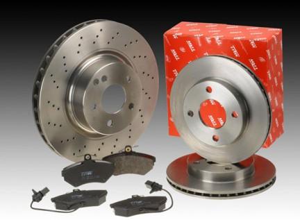 trw brake disc pad